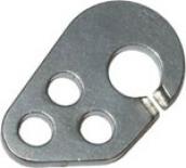 Карабин разрезной для speed-system с тремя отверстиями ( Крючья